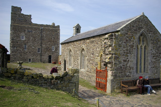 Chapel of St Cuthbert and Prior Castell's Tower, Inner Farne