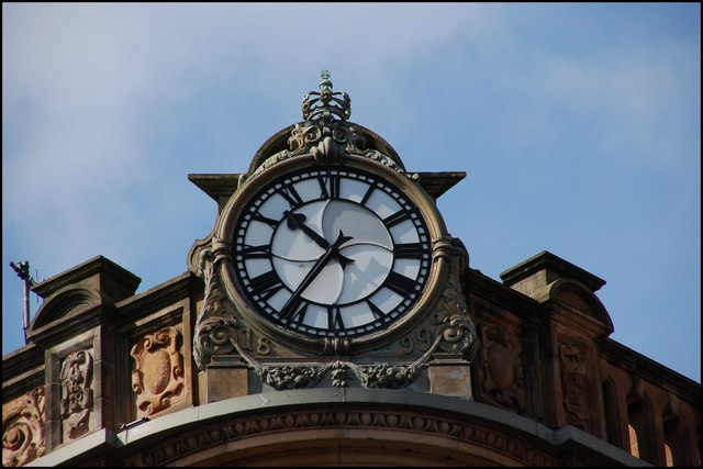 Former Anderson & McAuley's, Belfast (detail)