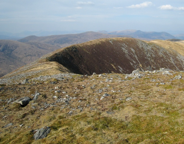 Carn Eiteige - northern ridge