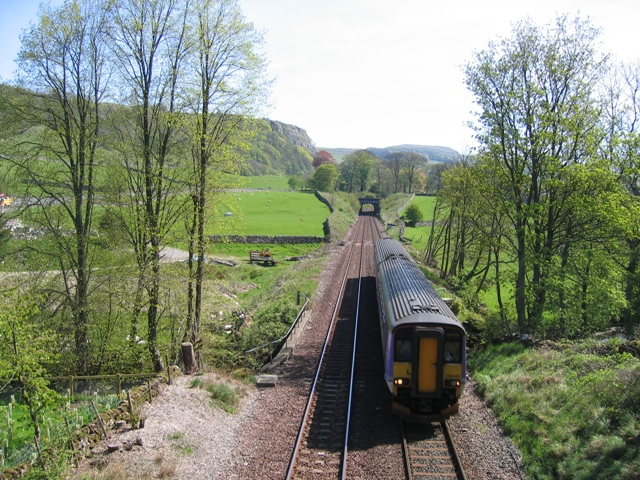 Settle to Carlisle Railway at Stainforth