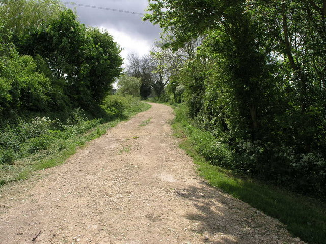 Bridleway from Ompton