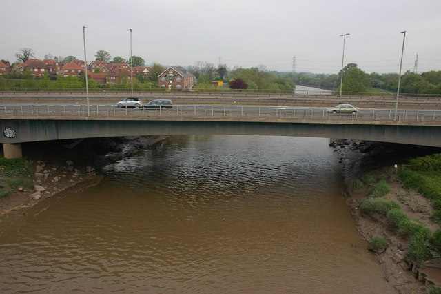 The new bridge at Over