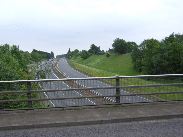 A47 to Great Yarmouth from Blofield Flyover