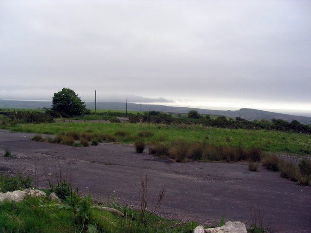 Derelict site on Askerswell Down