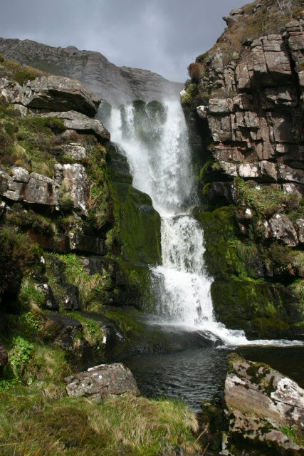 Garbh Allt waterfall
