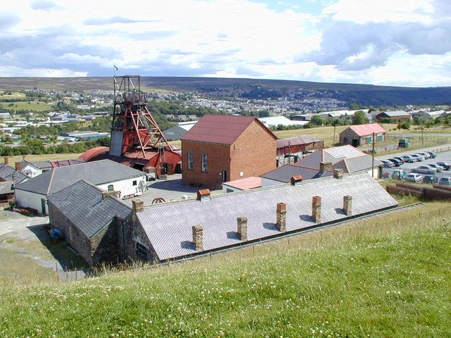 The Big Pit colliery museum
