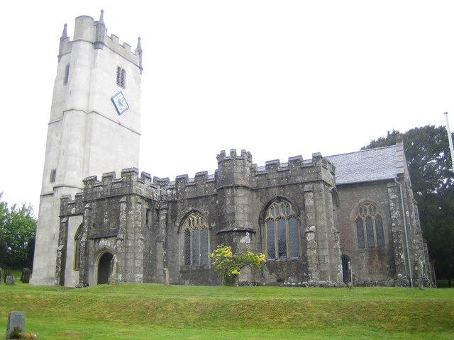 Manaton: Church of St Winifred