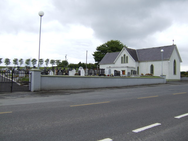 Modern church and cemetery, Whitehall, Westmeath