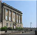 ST7465 : Western end of Royal Crescent, Bath by Pauline Eccles