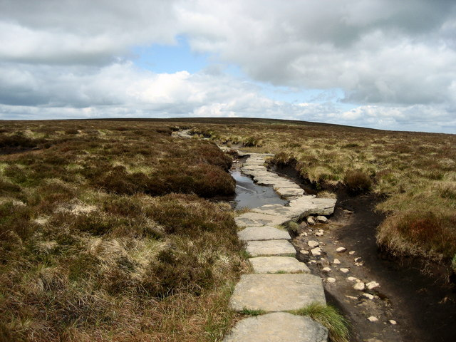 Offa's Dyke Trail on the Black Mountains