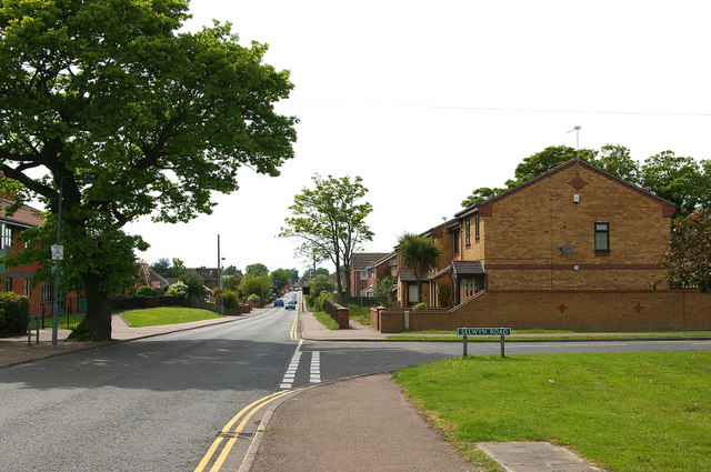Selwyn Road Junction at Long Lane - Gorleston