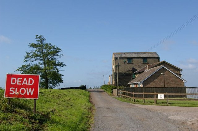 Pumping station and sign