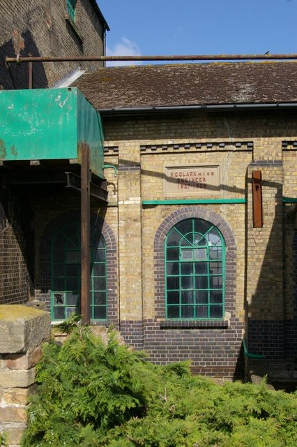 Detail of pumping station