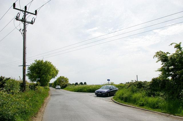 Sidegate Road & Hobland Road Junction