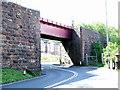 NS1969 : Wemyss Bay railway bridge by Thomas Nugent