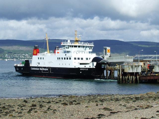 MV Argyle at Wemyss Bay pier