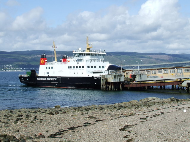 MV Bute at Wemyss Bay pier
