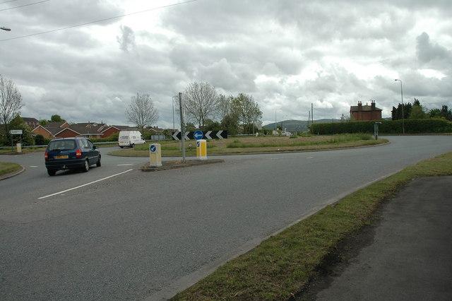 Pen-y-Mynydd Roundabout.