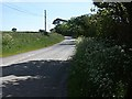 SW8437 : Lane to Carwarthen by Fred James