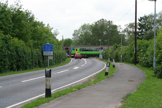 Folly Bank crossing, Peakirk