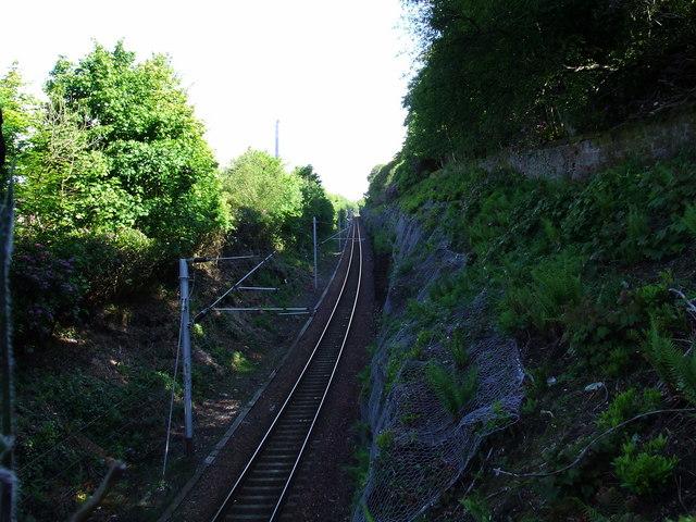 Wemyss Bay railway line
