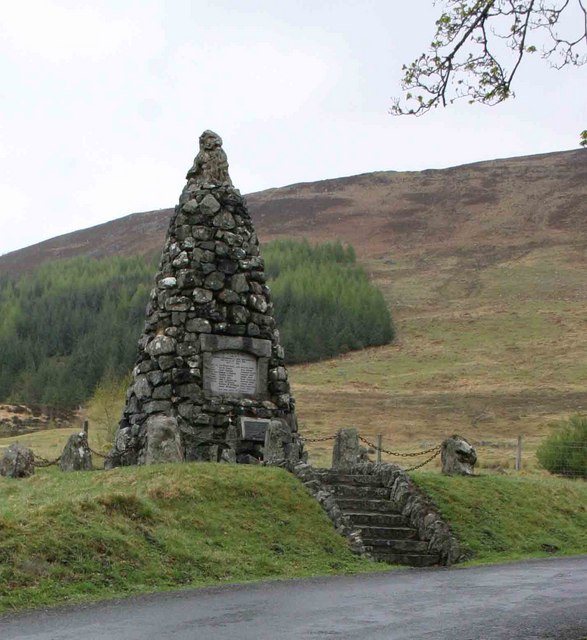 War memorial to the Men of Glen Lyon