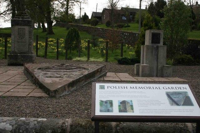 Polish Memorial Garden, Douglas
