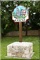 TL3776 : Colne village sign by Fractal Angel