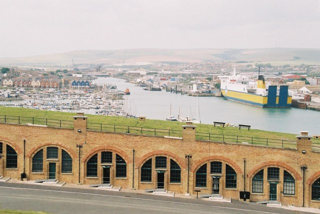 Newhaven: the fort and the port