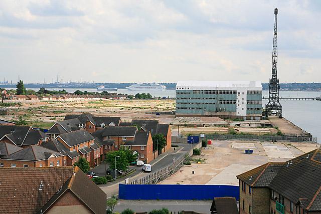 Site of former Vosper Thornycroft shipyard, Woolston