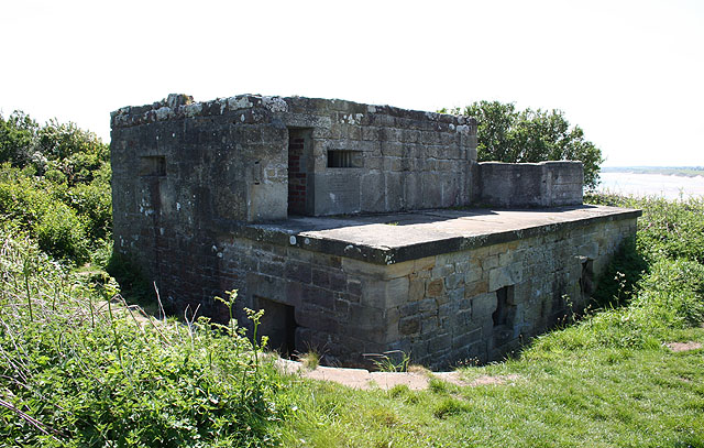 Old battery, Alnmouth Links