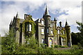 NS2587 : Disused Country House Shandon by George Rankin