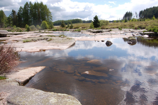 The otter pool malcolm morris geograph britain and - Swimming pools in dumfries and galloway ...