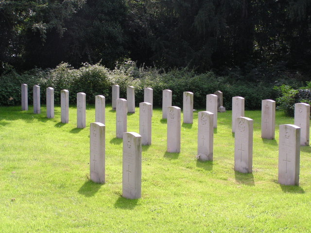 Forces Graveyard, St. Mary's Manby