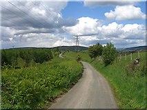 ST0596 : Mountain Road by Steve Sheppard