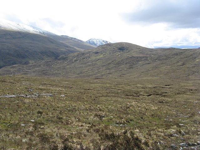 Pass below Meallan Buidhe