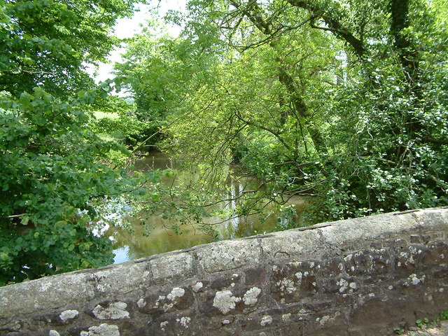 River Creedy, Devon