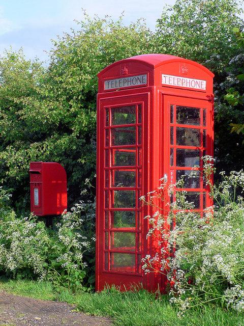 Maidenwell Telephone Kiosk
