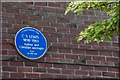J3774 : C S Lewis plaque, Belfast by Albert Bridge