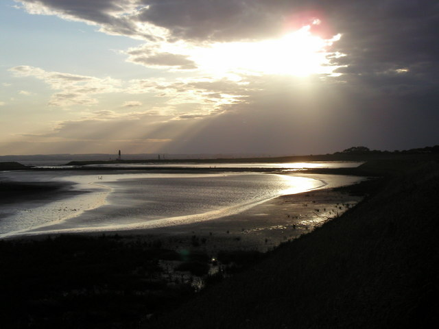 Sunset at the Humber 'Lagoon'