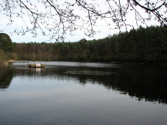 Captain 39 s pond evelyn simak cc by sa 2 0 geograph for Private fishing ponds near me