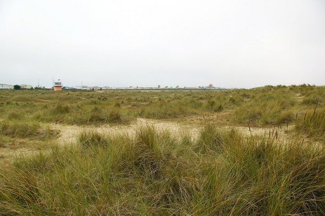 North Beach Dunes - Great Yarmouth