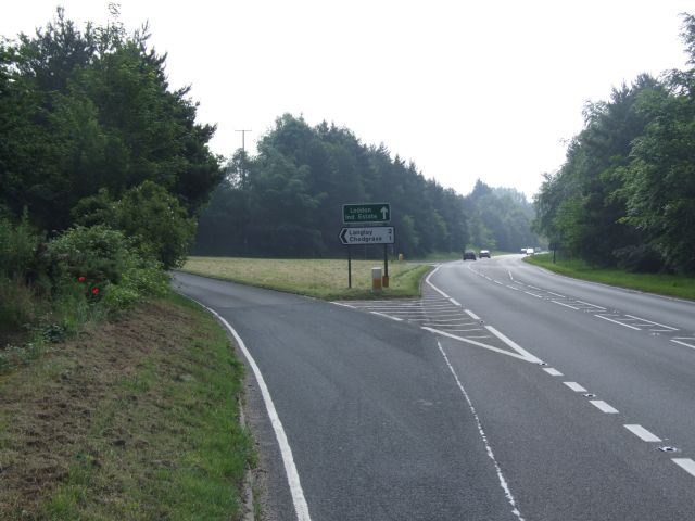 Turn Off A146 at Scotch Hill
