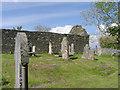 NM7701 : Kirkton Chapel and graveyard by Peter Amsden