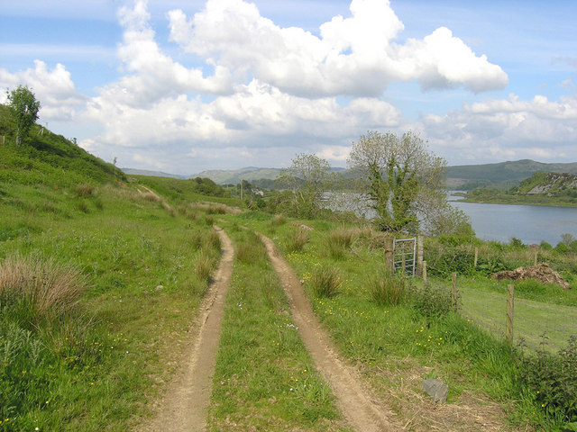 View from Gartcharran farm