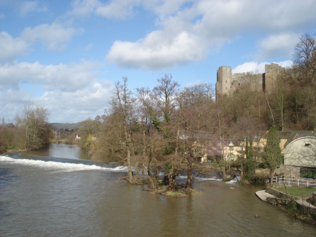 Upper weir at Ludlow