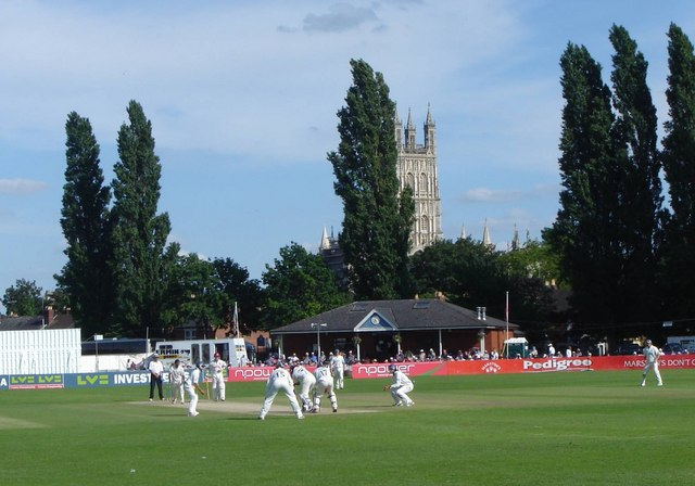 Cricket At Archdeacon Meadow © Ruth Sharville Cc-by-sa/2.0