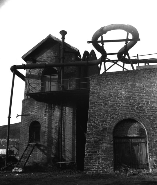 Waddle Fan, Deep Duffryn Colliery, formerly Nixon's Navigation Colliery.