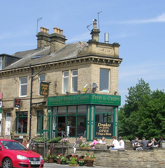 Drake 39 s fish chips bradford road betty longbottom cc for Bettys fish and chips