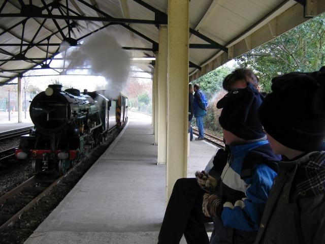 Hythe Station: Romney, Hythe & Dymchurch Railway
